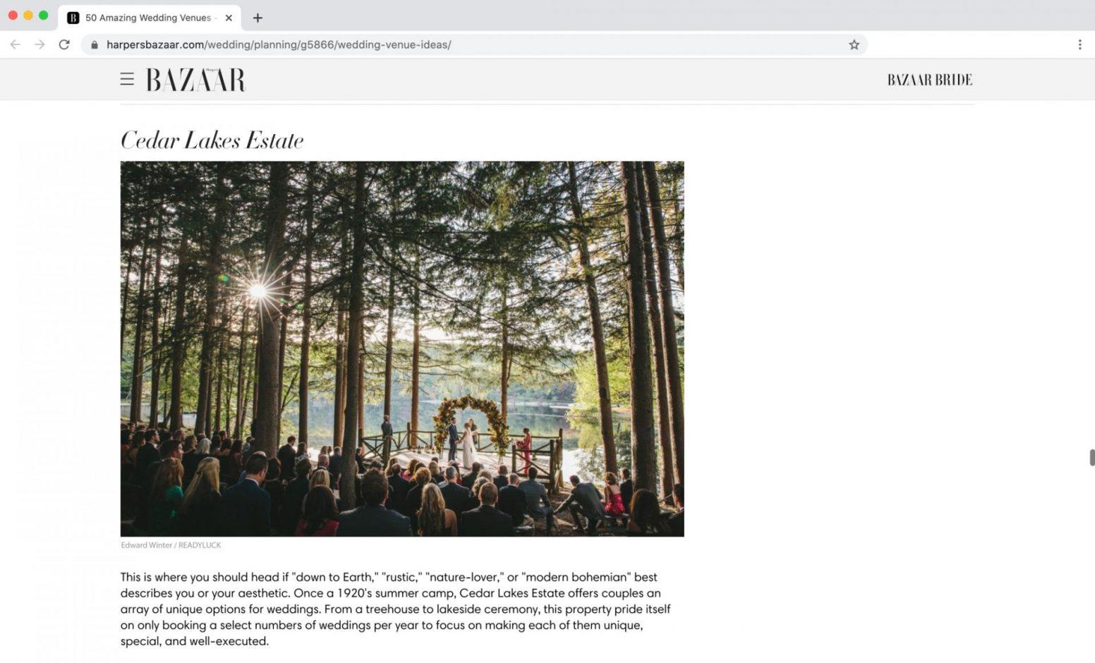 Harpers Bazaar Feature