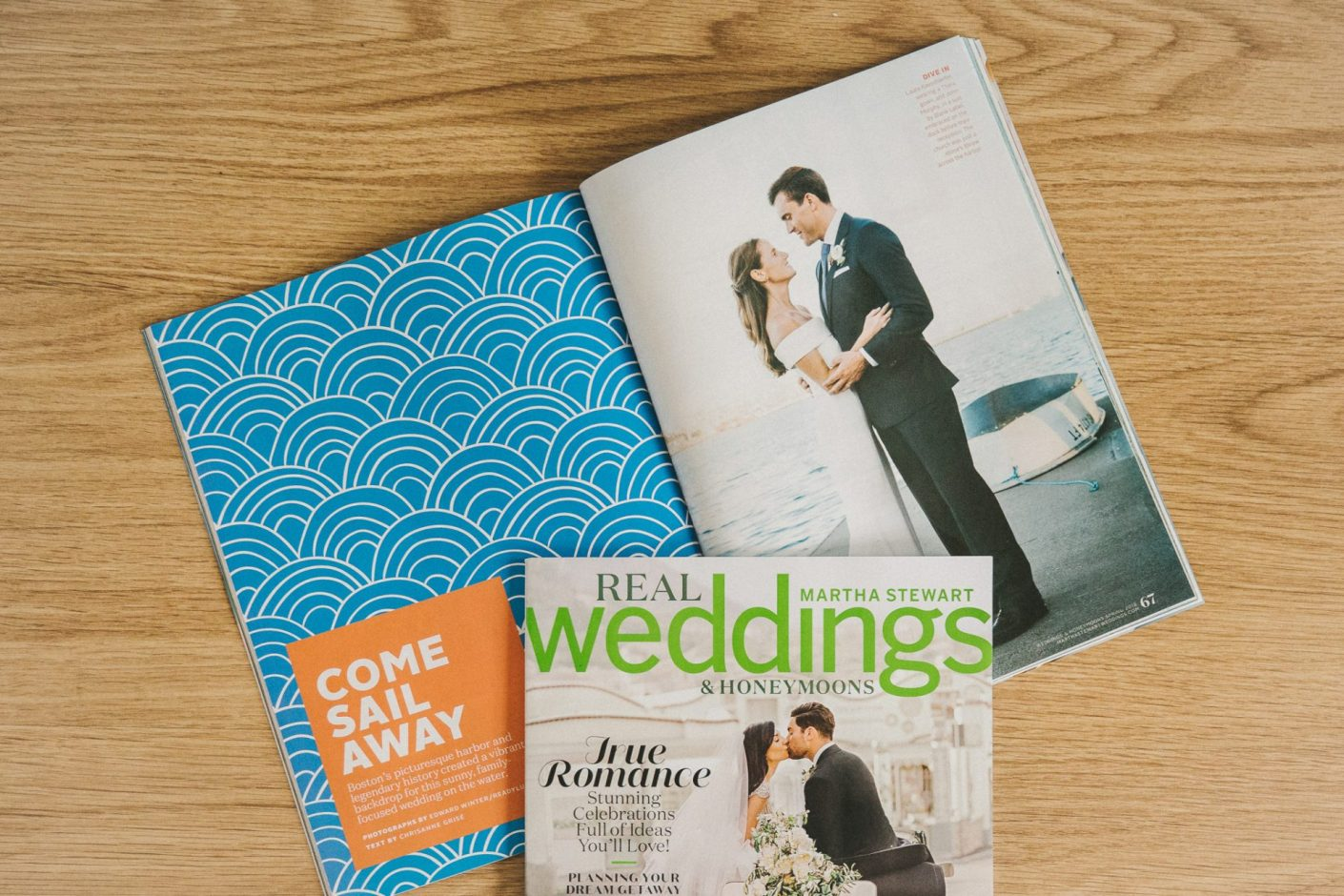 Edward Winter, Martha Stewart Weddings Magazine Feature