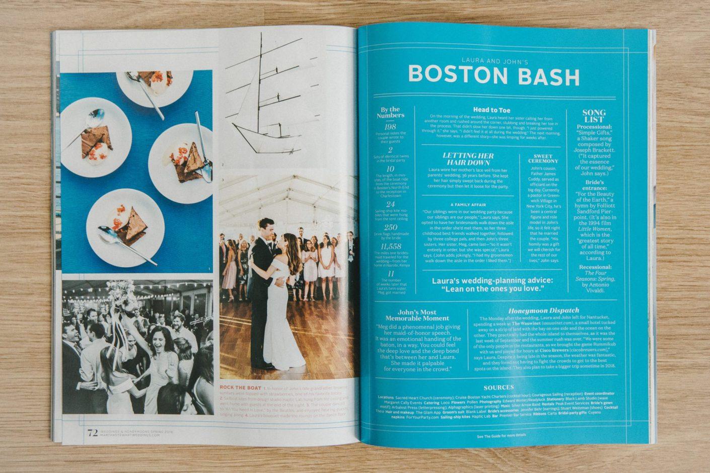 Martha Stewart Weddings Magazine Feature