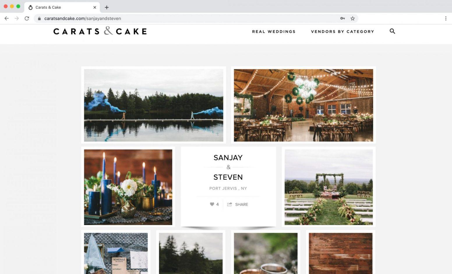 Edward Winter, Carats & Cake Feature Cedar Lakes Estate