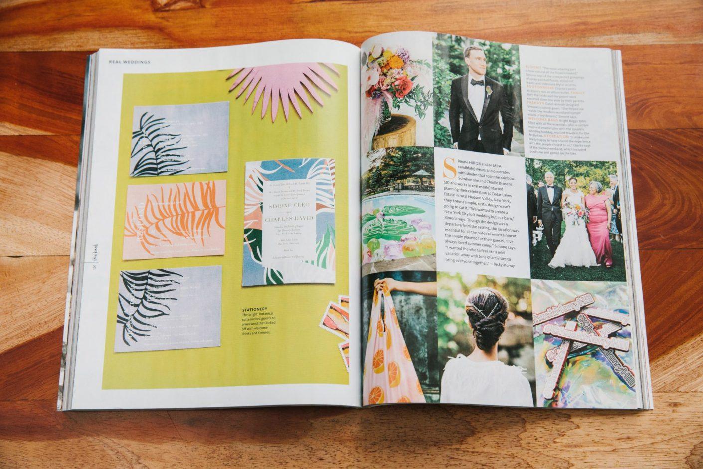 Edward Winter, The Knot Magazine Feature Cedar Lakes Estate Jove Meyer Events