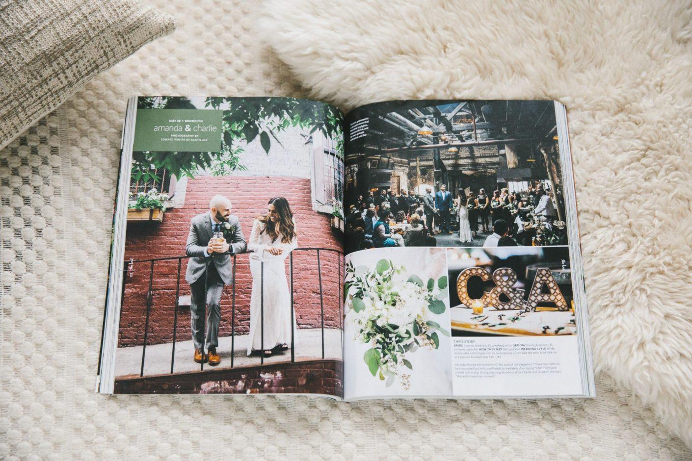 The Knot Magazine Feature Radegast Bier Hall Williamsburg Brooklyn