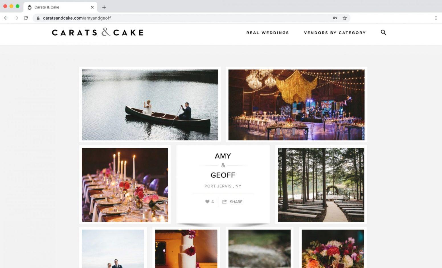 Carats & Cake Feature, Cedar Lakes Estate
