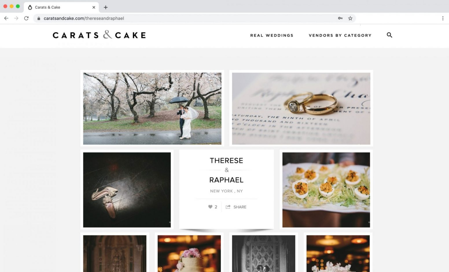 Edward Winter, Carats & Cake Feature Central Park Boathouse Wedding