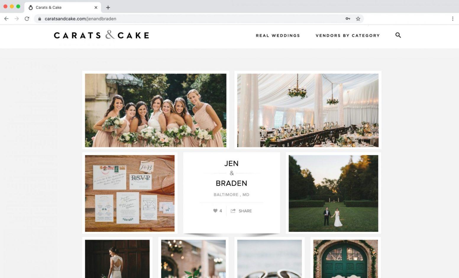 Carats & Cake Feature Evergreen Museum Wedding