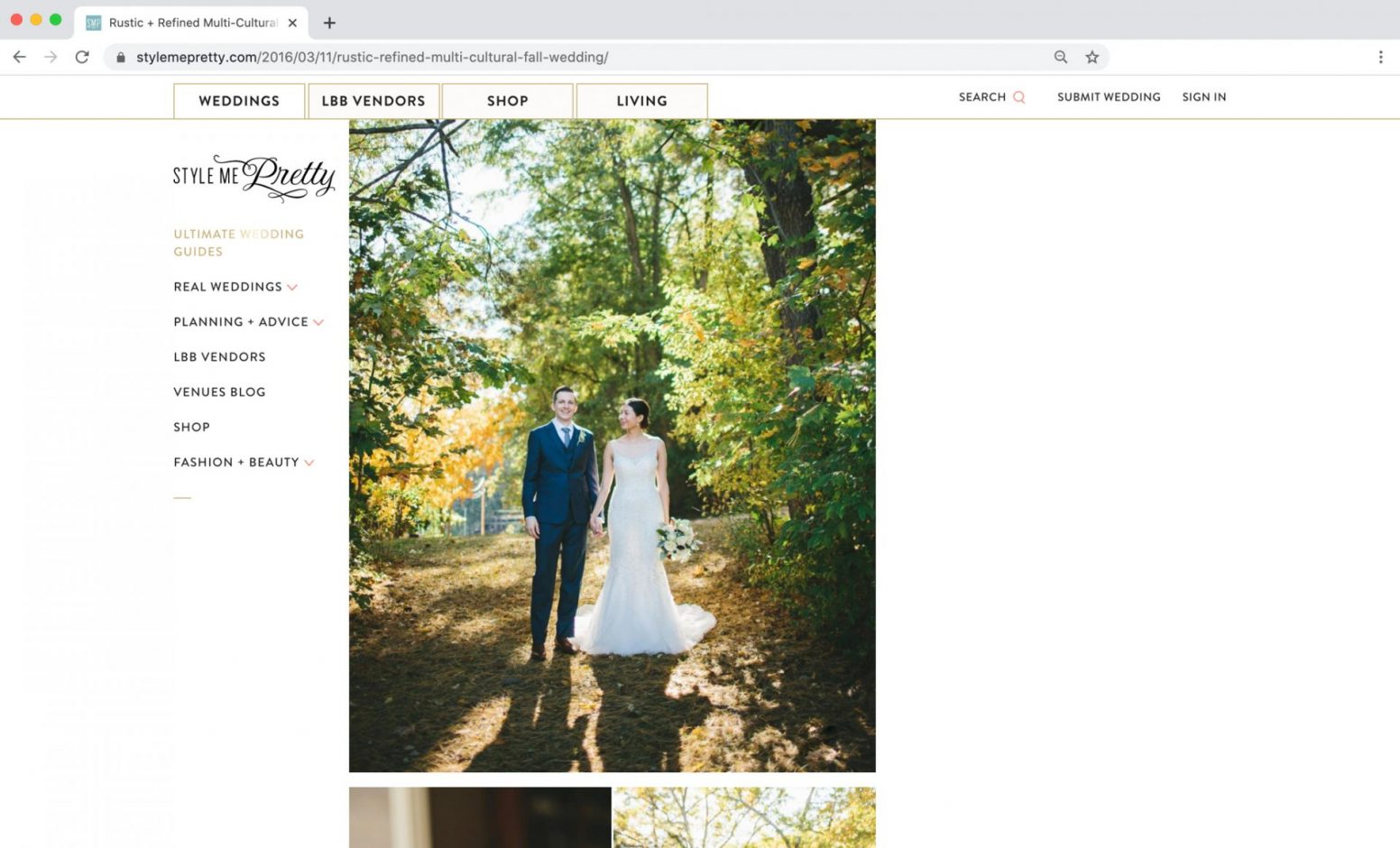 Style me Pretty Feature New York Wedding