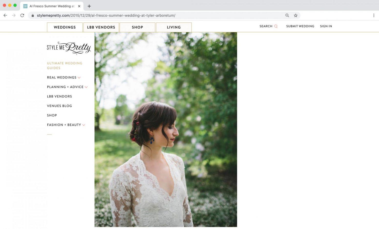 Edward Winter, Style Me Pretty Feature New York Wedding