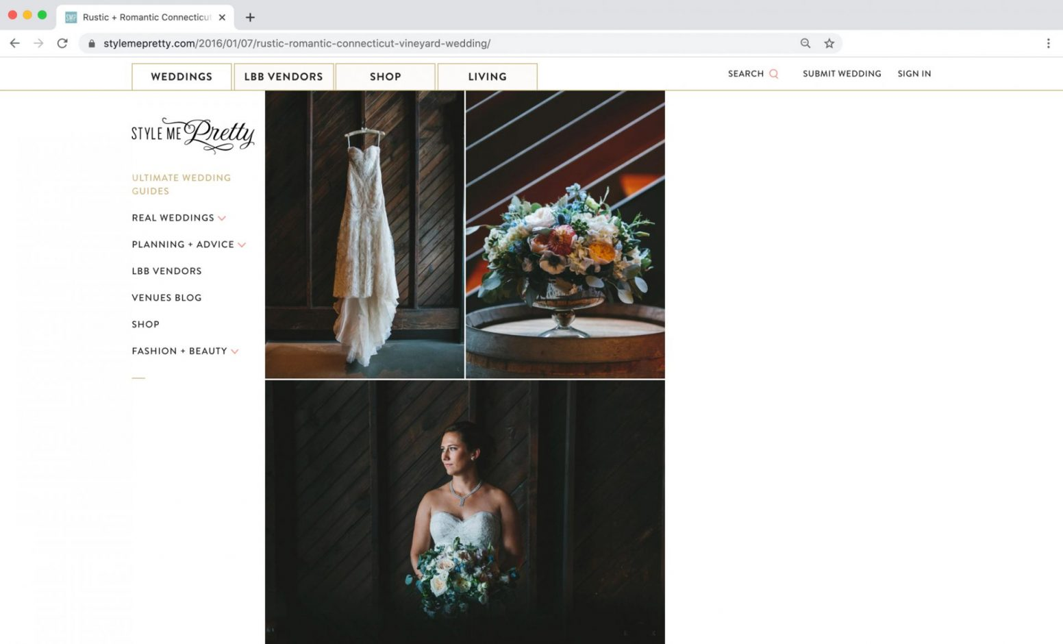 Edward Winter, Style Me Pretty Feature Connecticut Wedding