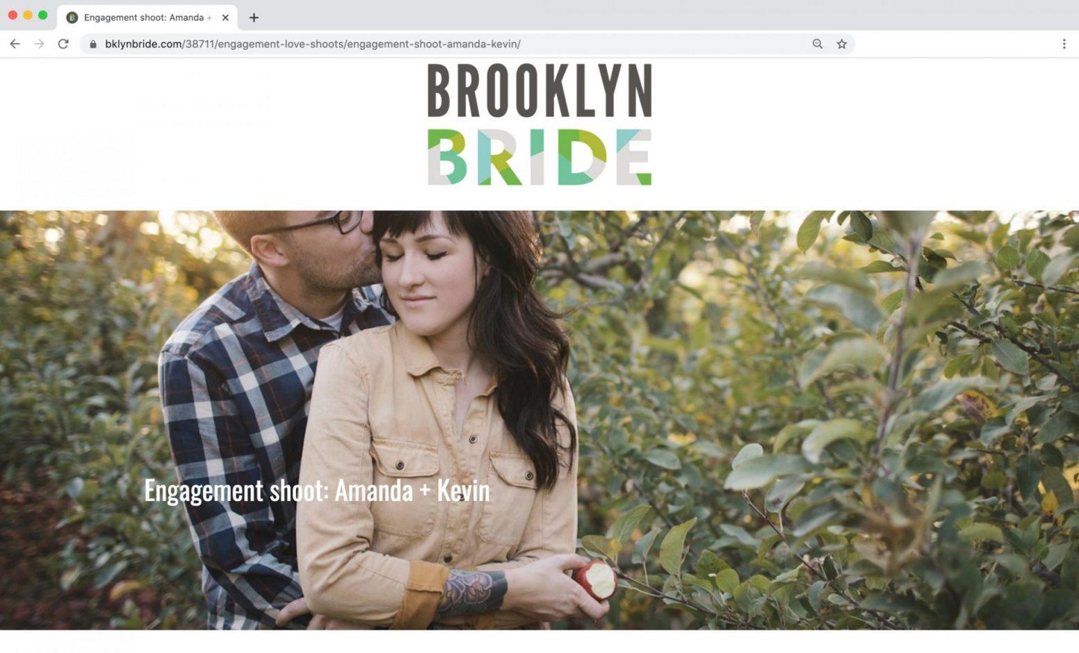 Brooklyn Wedding Feature